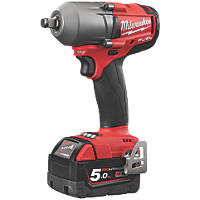 Milwaukee M18 FMTIWF12-502X 18V 5.0Ah Li-Ion RedLithium Brushless Cordless Impact Wrench