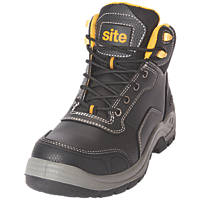Site Froswick   Safety Boots Black Size 8