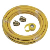Teslaflex Gas Fitting Starter Kit 20.7mm 10m DN22 4 Pieces