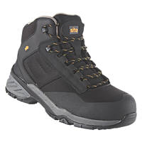 Site Magma Metal Free  Safety Boots Black Size 7