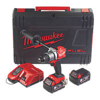 Milwaukee M18 FPD2-502X FUEL 18V 5.0Ah Li-Ion RedLithium Brushless Cordless Combi Drill