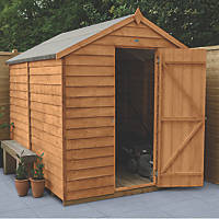 Forest  6' x 8' (Nominal) Apex Overlap Timber Shed