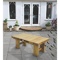 Forest Low Sleeper Garden Table 1225 x 600 x 445mm