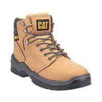 CAT Striver   Safety Boots Honey Size 12