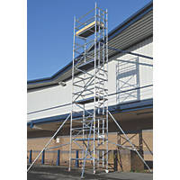 Lyte Helix Single Depth Aluminium Industrial Tower 7.7m