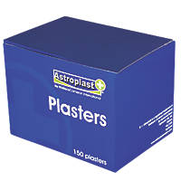 Wallace Cameron 1214086 Blue Detectable Plasters 150 Pack