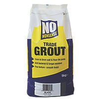 No Nonsense  No Mould Grout Black 5kg