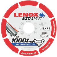 Lenox  Metal Diamond Cutting Disc 115 x 22.2mm