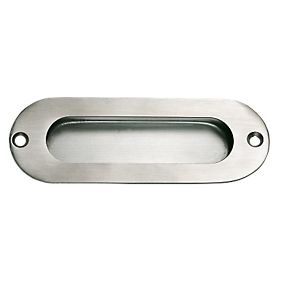 Flush Pulls 120mm Satin Stainless Steel Cup Handles