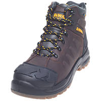 DeWalt Hadley   Safety Boots Brown Size 8
