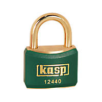 Kasp  Lockout Padlock Green 20 x 21mm