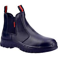CAT FS316   Safety Dealer Boots Black Size 9