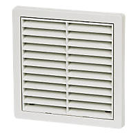 Manrose Fixed Louvre Vent White 125 x 125mm