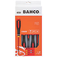 Bahco Ergo Mixed  VDE Screwdriver Set 5 Pcs