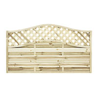 Grange Woodbury Fence Panel 1.8 x 1.05m 5 Pack