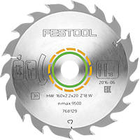 Festool General Purpose TCT Circular Saw Blade 160 x 20mm 18T