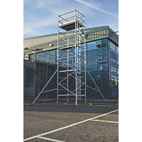 Lyte Helix Double Depth Aluminium Industrial Tower 6.7m