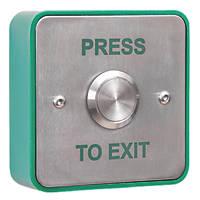 Briton Vandal-Resistant Push-To-Exit Button