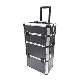 mac allister cj 1221 aluminium mobile storage centre 26. Black Bedroom Furniture Sets. Home Design Ideas