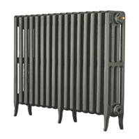 Arroll  4-Column Cast Iron Radiator 660 x 874mm Cast Grey