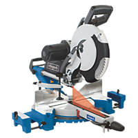 Scheppach HM120L 305mm  Electric Double-Bevel Sliding Compound Mitre Saw 230V