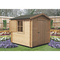 Shire Camelot 2 Log Cabin 2.3 x 2.3m