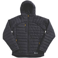 "JCB Trade Padded Jacket Black Large 46"" Chest"