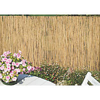 Apollo Natural Reed Garden Screen 1 x 4m