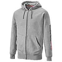 "Timberland Pro Honcho Sport Hooded Zip Sweatshirt  Grey Marl  Medium 43"" Chest"
