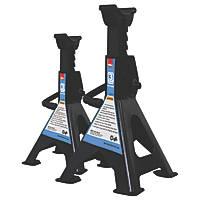 Hilka Pro-Craft 3 Tonne Ratchet Axle Stands Pair