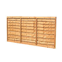Forest  Lap  Fence Panels 6 x 4' Pack of 9