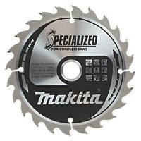 Makita TCT Circular Saw Blade 160 x 20mm 24T