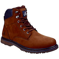 Amblers Millport   Non Safety Boots Brown Size 7