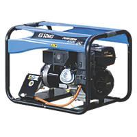 SDMO 6500LPG 6500W Portable Generator 110/230V