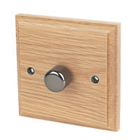 Varilight  1-Gang 2-Way LED Dimmer Switch  Classic Oak