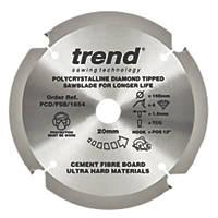 Trend Fibreboard Sawblade 165 x 20mm 4T