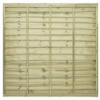 Grange Pro Lap Fence Panels 1.83 x 1.8m 5 Pack