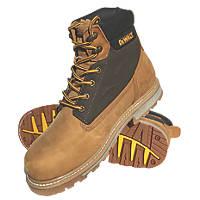 DeWalt Axle   Safety Boots Honey Size 7