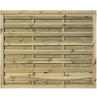 Rowlinson Gresty Double-Slatted  Fence Panel 6 x 5' Pack of 3