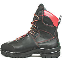 Oregon Waipoua  Safety Chainsaw Boots Black Size 10.5