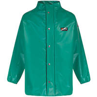 """Alpha Solway CMJH-EW Chemmaster Chemical-Resistant Jacket Green X Large 57"""" Chest"""