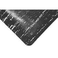 COBA Europe Marble Top Anti-Fatigue Floor Mat Black 18.3 x 0.9m