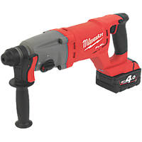 Milwaukee M18CHD-402C FUEL 3.5kg 18V 4.0Ah Li-Ion RedLithium Brushless Cordless SDS Plus Drill