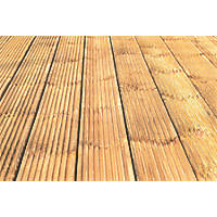 Forest Patio Decking Kit 28mm x 2.4m x 0.12m 5 Pack