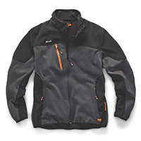 "Scruffs Trade Tech Softshell Jacket  Charcoal  X Large 46/48"" Chest"