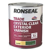 Ronseal Exterior Varnish Matt Clear 750ml
