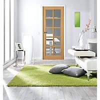 Jeld-Wen  10-Clear Light Unfinished Oak Veneer Wooden 10-Panel Internal Door 1981 x 762mm