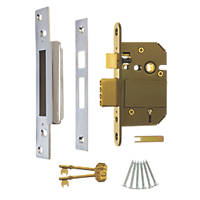 ERA Satin 5-Lever Mortice Sashlock 76mm Case - 56mm Backset