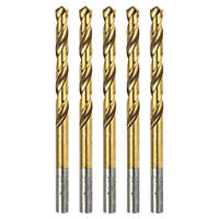 Erbauer  Ground HSS Drill Bit 6 x 93mm 5 Pack