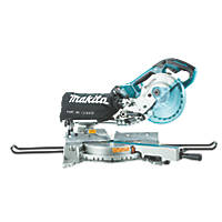 Makita DLS714Z 190mm Twin 18V Li-Ion LXT Brushless Cordless Single-Bevel Sliding Compound Mitre Saw - Bare